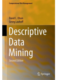 Obálka knihy  Descriptive Data Mining od Olson David L., ISBN:  9789811371806