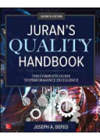 Obálka knihy  Juran's Quality Handbook: The Complete Guide to Performance Excellence od DeFeo Joseph A., ISBN:  9781259643613