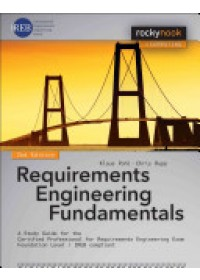 Obálka knihy  Requirements Engineering Fundamentals od Pohl Klaus, ISBN:  9781937538774