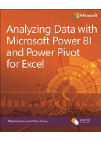 Obálka knihy  Analyzing Data with Power BI and Power Pivot for Excel od Russo Marco, ISBN:  9781509302765