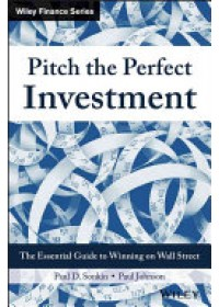 Obálka knihy  Pitch the Perfect Investment od Sonkin Paul D., ISBN:  9781119051787