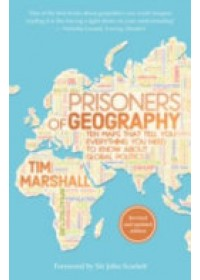 Obálka knihy  Prisoners of Geography od Marshall Tim, ISBN:  9781783962433