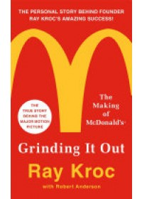 Obálka knihy  Grinding it Out od Kroc Ray, ISBN:  9781250130280