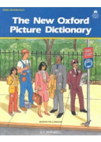 Obálka knihy  New Oxford Picture Dictionary: English-Navajo Editon od Parnwell E. C., ISBN:  9780194343626