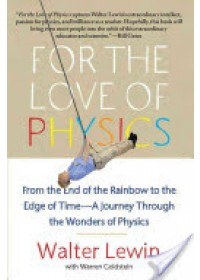 Obálka knihy  For the Love of Physics od Lewin Walter H. G., ISBN:  9781451607130