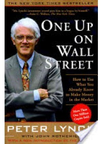 Obálka knihy  One Up on Wall Street od Lynch Peter, ISBN:  9780743200400