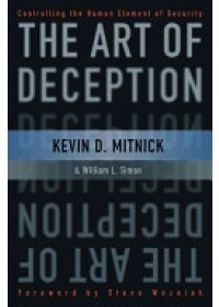 Obálka knihy  Art of Deception od Mitnick Kevin D., ISBN:  9780764542800