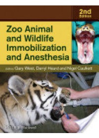 Obálka knihy  Zoo Animal and Wildlife Immobilization and Anesthesia od West Gary, ISBN:  9780813811833