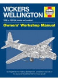 Obálka knihy  Vickers Wellington Owners' Workshop Manual od Murray Iain, ISBN:  9780857338631