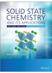 Obálka knihy  Solid State Chemistry and Its Applications od West Anthony R., ISBN:  9781119942948