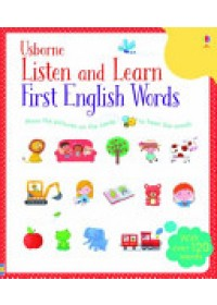 Obálka knihy  Listen and Learn First English Words od Taplin Sam, ISBN:  9781409582489