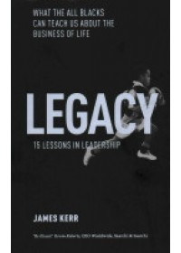 Obálka knihy  Legacy - 15 Lessons in Leadership od Kerr James, ISBN:  9781472103536