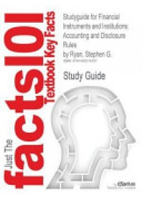 Obálka knihy  Studyguide for Financial Instruments and Institutions od Cram101 Textbook Reviews, ISBN:  9781490214207