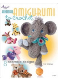 Obálka knihy  Animal Amigurumi to Crochet od Crews Teri, ISBN:  9781596357761