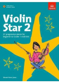 Obálka knihy  Violin Star 2, Student's Book, with CD od HuwsJones Edward, ISBN:  9781860969003