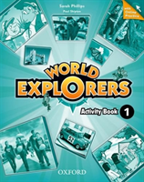 World Explorers: Level 1: Activity Book with Online Practice(Mixed media product)