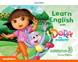 Learn English with Dora the Explorer: Level 3: Activity Book(Paperback / softback)