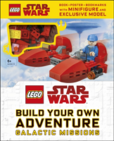 LEGO Star Wars Build Your Own Adventure Galactic Missions - With LEGO Star Wars Minifigure and Exclu