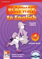 Playway to English Level 4 Activity Book with CD-ROM (Gerngross Gunter)(Mixed media product)