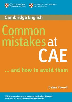 Common Mistakes at Cae...and How to Avoid Them (Powell Debra)(Paperback)