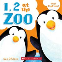 1, 2 at the Zoo (DiCicco Sue)(Board Books)