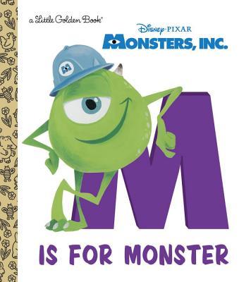 Monsters, Inc.: M Is for Monster (Wazowski Mike)(Pevná vazba)