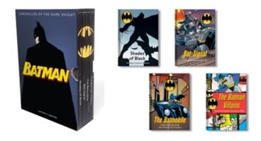 Batman: Chronicles of the Dark Knight - (4 hardcover, illustrated books) (Manning Matthew K.)(Pevná vazba)