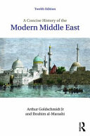 Concise History of the Middle East (Goldschmidt Arthur Jr.)(Paperback / softback)