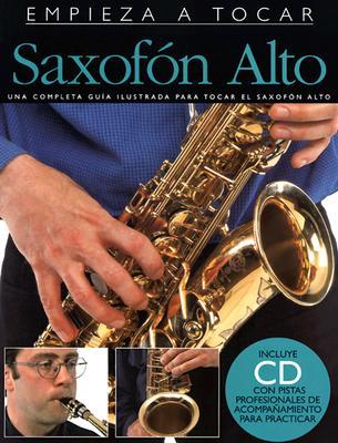 Saxofon Alto [With CD] (Amsco Publications)(Paperback)