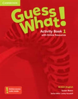 Guess What! Level 1 Activity Book with Online Resources British English (Rivers Susan)(Paperback)