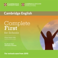 Complete First for Schools Class Audio CDs (2) (Brook-Hart Guy)(CD-Audio)
