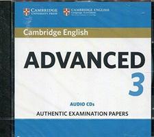 Cambridge English Advanced 3 Audio CDs(CD-Audio)