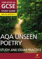 AQA English Literature Unseen Poetry Study and Exam Practice: York Notes for GCSE (9-1)(Paperback)