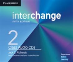 Interchange Level 2 Class Audio CDs (Richards Jack C.)(CD-Audio)