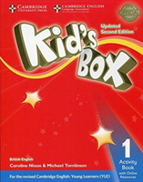 Kid's Box Level 1 Activity Book with Online Resources British English (Nixon Caroline)(Mixed media product)