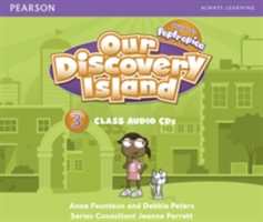Our Discovery Island Level 3 Audio CD (Feunteun Anne)(CD-Audio)