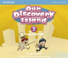 Our Discovery Island Level 5 Audio CD (Roderick Megan)(CD-Audio)