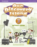 Our Discovery Island Level 3 Activity Book and CD-ROM (pupil) Pack (Peters Debbie)(Mixed media product)
