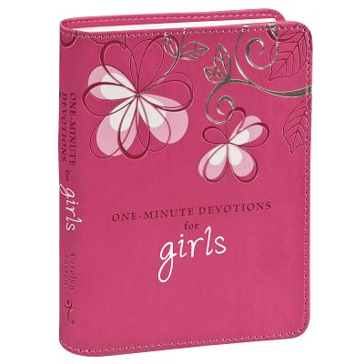 1 Min Devotions for Girls Lxu- (Larsen Carolyn)(Pevná vazba)