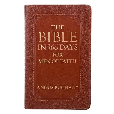 Lux-Leather - The Bible in 366 Days for Men of Faith (Christian Art Gifts)(Pevná vazba)