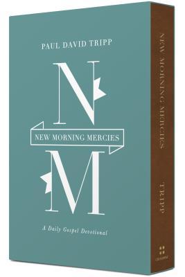 New Morning Mercies - A Daily Gospel Devotional (Tripp Paul David)(Leather / fine binding)
