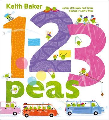 1-2-3 Peas (Baker Keith)(Pevná vazba)