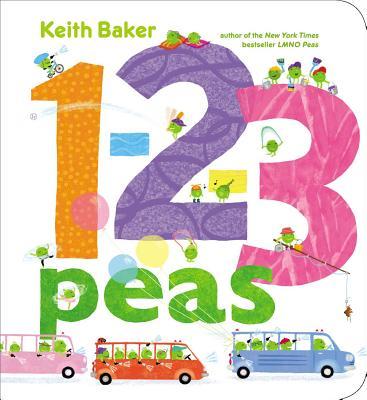 1-2-3 Peas (Baker Keith)(Board Books)