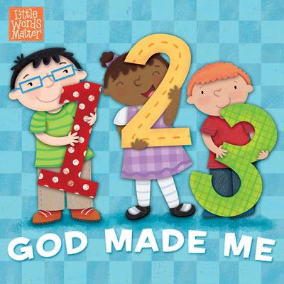 1, 2, 3 God Made Me (B&h Kids Editorial)(Board Books)