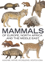 Mammals of Europe, North Africa and the Middle East (Aulagnier S)(Pevná vazba)
