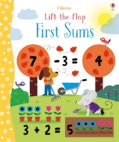Lift-the-Flap First Sums (Brooks Felicity)(Board book)