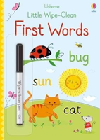 Little Wipe-Clean First Words (Brooks Felicity)(Paperback)