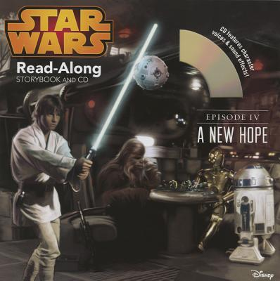 Star Wars: A New Hope Read-Along Storybook and CD (Disney Book Group)(Paperback)