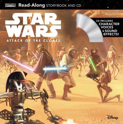 Star Wars Star Wars: Attack of the Clones Read-Along Storybook and CD (Lucas Film Book Group)(Paperback)