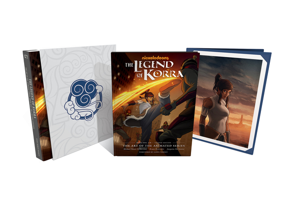 Legend Of Korra: The Art Of The Animated Series--book One: Air Deluxe Edition (second Edition) (DiMartino Michael Dante)(Pevná vazba)